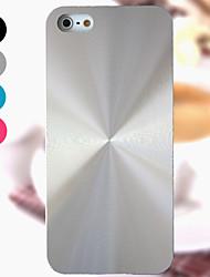 Недорогие -Кейс для Назначение iPhone 4/4S / Apple iPhone 4s / 4 Кейс на заднюю панель Твердый Алюминий