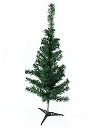 Недорогие -пластиковая елка украшения - зеленый (размер м)