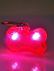 cheap -Cat Dog Tag LED Lights Cosplay Plastic Rainbow