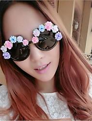 Недорогие -цветочные формы очки для партии / лето (случайный цвет)