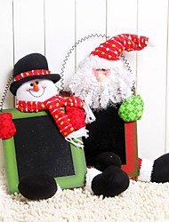 cheap -Colorful Door Hanging Christmas Can Writing Christmas Decoration