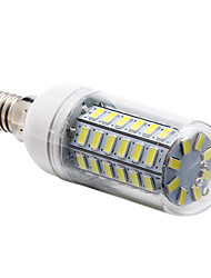 cheap -1 pc E14 56LED SMD5730 Decorative Corn Lights AC220V White