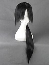 cheap -Naruto Itachi Uchiha Cosplay Wigs Men's 32 inch Heat Resistant Fiber Black Anime