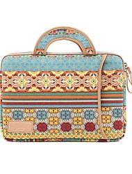 """Недорогие -LiSEN 15 """"Ноутбук Рукава текстильный Цветочный принт для делового офиса для колледжей и школ для путешествия Водостойкий Противоударное покрытие"""