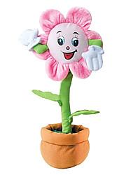 Недорогие -Мягкие игрушки Игрушки Ваза Оригинальные Электрический Плюш Мальчики Девочки Куски