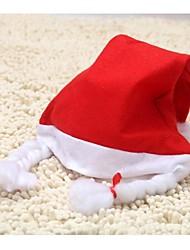 Недорогие -шляпа унисекс взрослого с косами рождественские шляпы Санта шляпу