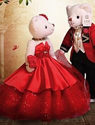 cheap -Wedding Teddy Bear(Red)
