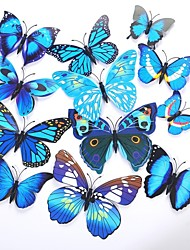 cheap -Unique Wedding Décor PVC(PolyVinyl Chloride) / Mixed Material Wedding Decorations Wedding Party Butterfly Theme / Classic Theme All Seasons
