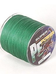 cheap -PE Braided Line / Dyneema / Superline Fishing Line 300M / 330 Yards PE 25LB 0.23 mm Sea Fishing Fly Fishing Bait Casting / Ice Fishing / Spinning