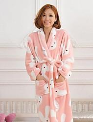 cheap -Bath Robe, High-class Sweet Rabbit Garment Bathrobe Thicken