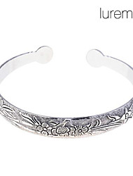 cheap -Women's Bracelet Bangles Flower Ladies Open Alloy Bracelet Jewelry For Wedding