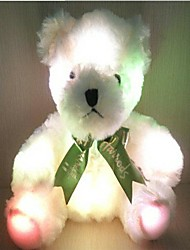cheap -LED Lighting Stuffed Animal Plush Toys Plush Dolls Stuffed Animal Plush Toy Bear Lighting Plush Fabric Plush Imaginative Play, Stocking, Great Birthday Gifts Party Favor Supplies Boys and Girls