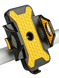 cheap -Bike Phone Mount Anti Shake Stable Safety for Road Bike Mountain Bike MTB BMX Steel Stainless Synthetic ABS iPhone X iPhone XS iPhone XR Cycling Bicycle Yellow