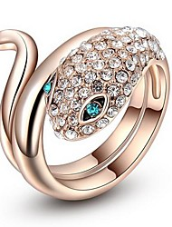 cheap -Statement Ring Screen Color Cubic Zirconia Alloy Statement Party Work