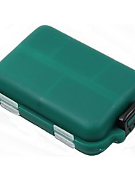 Недорогие -Коробка для рыболовной снасти Коробка для мормышек Водонепроницаемый Жесткие пластиковые 9.5 cm*6,5 см*2.7 cm