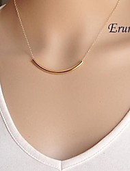 cheap -Women's Pendant Necklace Simple Fashion Small Alloy Golden Necklace Jewelry For Party Daily Casual Sports
