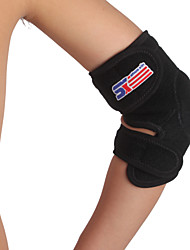 cheap -SHUOXIN Elbow Strap / Elbow Brace Elbow Support for Climbing Running Cycling / Bike Outdoor Nylon Lycra Spandex 1pc Sport Outdoor clothing Black