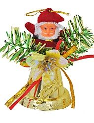 cheap -Santa Claus Ringing Bell Pendant Christmas Tree Ornament