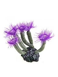 Недорогие -фиолетовый аквариум аквариум силиконовый искусственное море завод коралловый цветочный орнамент