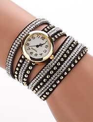 cheap -Women's  Small  Round  Dial  Diamante Mushroom Circuit   Flocking  Band Quartz  Watch (Assorted Color)C&d311 Cool Watches Unique Watches