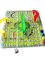 Недорогие -3d змеи и лестницы Классический семейный игра в шахматы