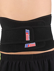 cheap -SHUOXIN Back Support / Lumbar Support Belt for Running Hiking Cycling / Bike Outdoor Nylon Lycra Spandex 1pc Sports Outdoor clothing Black