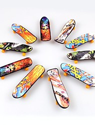 cheap -10Pieces/Lot Toys for Children Finger Skateboard(Single Face Printed)
