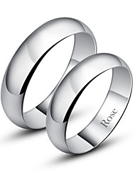 cheap -Women's Couple's Band Ring Ring Silver Fashion Daily Jewelry