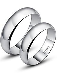 Недорогие -Жен. Для пары Кольцо Серебристый Мода Повседневные Бижутерия