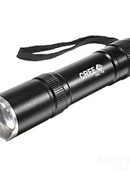 cheap -LS018 LED Flashlights / Torch Waterproof 1600 lm LED 1 Emitters 3 Mode Waterproof Camping / Hiking / Caving Everyday Use Police / Military / Aluminum Alloy