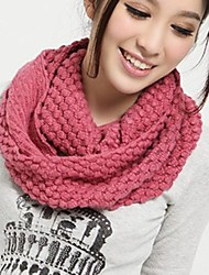 cheap -Women's Basic Infinity Scarf - Solid Colored / Winter
