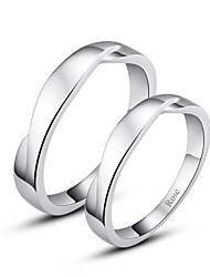cheap -Women's Couple's Ring Silver Silver Stylish Wedding Party / Evening Jewelry