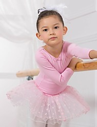 cheap -Kids' Dancewear / Ballet Dresses / Dresses&Skirts / Tutus Cotton Long Sleeve / Performance