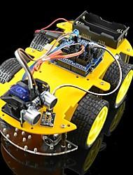 Недорогие -Bluetooth управляется наборы для Arduino робот автомобилей