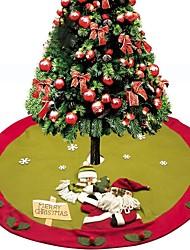 abordables -exquise main jupe arbre de Noël décoration de Noël tapis 122cm