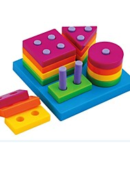 cheap -Child Geometric Sorting Board Funny Primary Baby Educational Stacking Blocks Toy