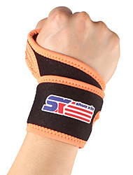 cheap -SHUOXIN Hand & Wrist Brace Wrist Support Wrist Protection for Running Hiking Climbing Outdoor Nylon Lycra Spandex 1pc Sport Outdoor clothing Black