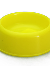 cheap -Pet Supplies Food Bowl Plain-Colored Water Single Bowl for Pet Dogs and Cats