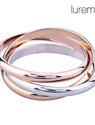 cheap -Women's Band Ring Go Rings Gold Plated Alloy Unusual Unique Design Fashion Wedding Daily Jewelry Russian Wedding Ring