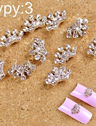 cheap -10pcs-3d-alloy-manicure-jewelry-shining-cute-with-drill-small-crown-nail-art-decorations