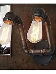 cheap -Industrial Iron 2-Light  Wall Light 220-240V