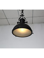 cheap -Industrial Iron 1-Light Pendant Light 220-240V