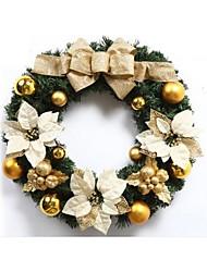cheap -50cm Large Christmas Door hanging,Christmas Decorating Wreath(1 pc)