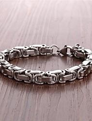 Недорогие -мужской браслет титана стали мода