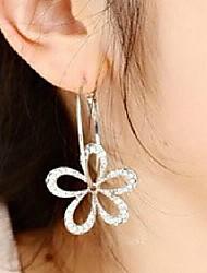 cheap -Women's Drop Earrings Flower Rhinestone Earrings Jewelry For Wedding Party Daily Casual Sports