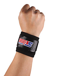 cheap -SHUOXIN Hand & Wrist Brace Wrist Support Wrist Protection for Running Hiking Jogging Outdoor Adjustable Stretchy Nylon Rubber 1pc Sports Outdoor Black