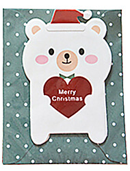 cheap -Mini Lovely Christmas Cards(Random Color)