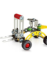 cheap -Magical Model DIY Intellectual Development Stainless Alloy Assembled Engineering Plant Forklift Toy(75 PCS)