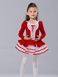 cheap -Kids' Dancewear / Ballet Dresses&Skirts / Tutus / Tops Spandex / Chiffon / Tulle Long Sleeve / Performance