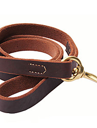cheap -Cody Durable Cow Leather Thicken Leashes for Pets Dogs